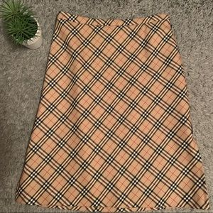 AUTHENTIC Burberrys of London a-line skirt